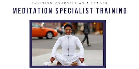 Meditation Specialist Training  tickets