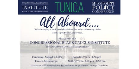 Mississippi Policy Conference | River Boat Cruise  tickets