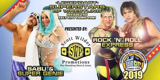 SWP At The Salt City Comic Con