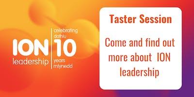 ION leadership -Taster session