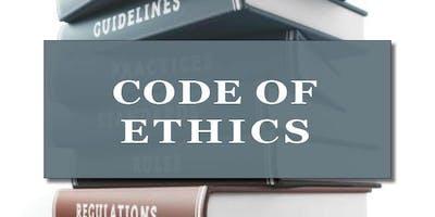 CB Bain | Code of Ethics (3-CH WA) | Yarrow Bay | Sept 12th 2019