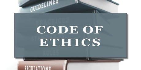 CB Bain | Code of Ethics (3-CH WA) | Yarrow Bay | Sept 12th 2019 tickets