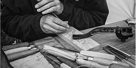 WOOD CARVING FOR BEGINNERS:  The Art of Letter-Carving With Stephen Stokes tickets