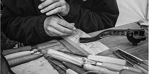 WOOD CARVING FOR BEGINNERS:  The Art of Letter-Carving With Stephen Stokes