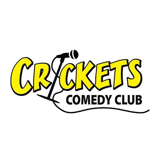 Crickets Comedy Club Thunder Bay logo