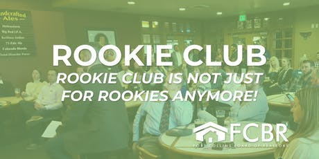 Rookie Club October tickets