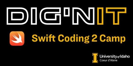 2019 Dig'nIT Swift Coding 2 Camp tickets