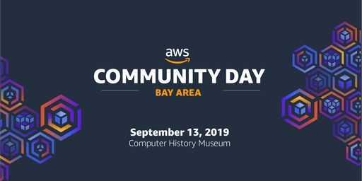 AWS Community Day, Bay Area, 2019