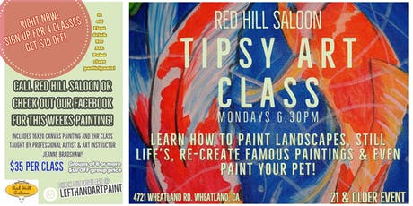 Tipsy Art Class tickets