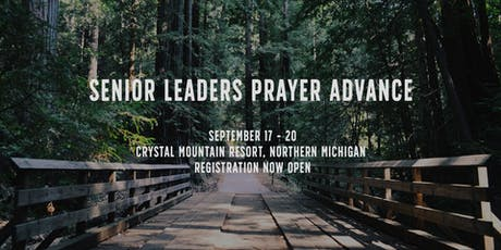 SENIOR LEADERS PRAYER ADVANCE 2019 tickets