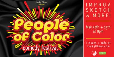 People of Color Comedy Festival!