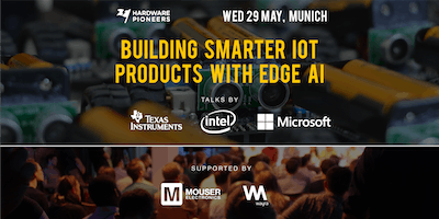 Building Smarter IoT Products with Edge AI - Talks by Intel, Microsoft and Texas Instruments