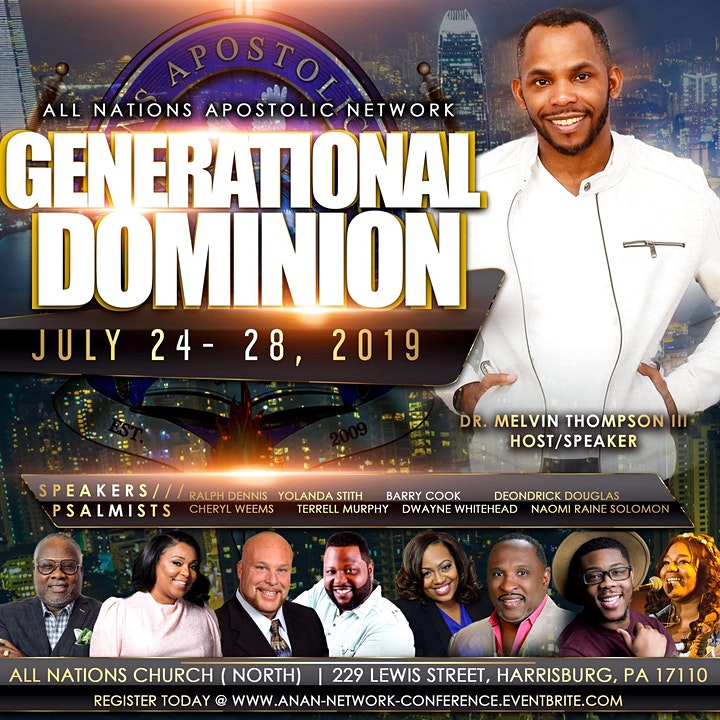 ANAN presents: Generational Dominion image