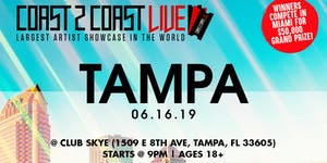 Coast 2 Coast LIVE Artist Showcase Tampa, FL - $50K...