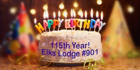 Petaluma Elks Lodge #901 Birthday Bash & Annual BBQ Picnic tickets