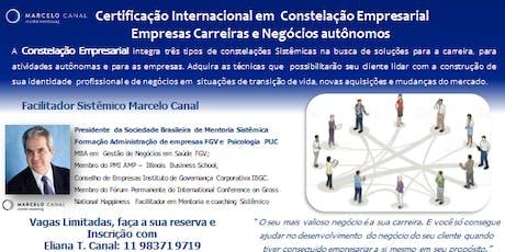 CERTIFICAÇÃO INTERNACIONAL EM CONSTELAÇÃO ORGANIZACIONAL EMPRESARIAL SISTÊMICA ingressos