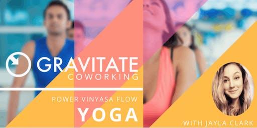 Gravitate Presents: Yoga With Jayla