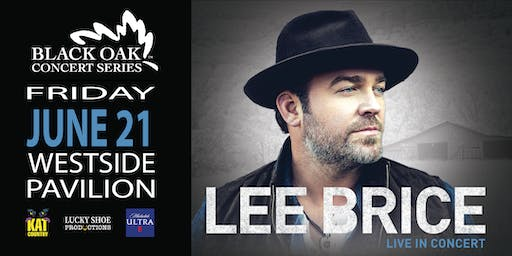 LEE BRICE special guest Tyler Farr