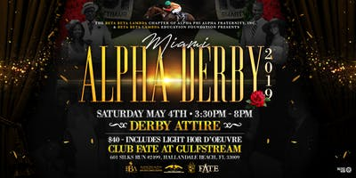 MIAMI ALPHA DERBY Day Party