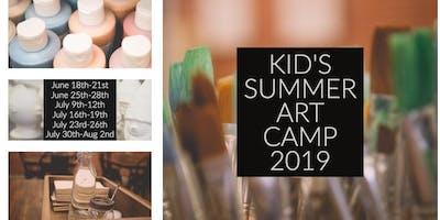 Kid's Summer Art Camp 2019 | Week 2