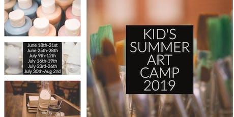 Kid's Summer Art Camp 2019   Week 3 tickets