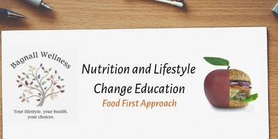 6 week Nutrition and Lifestyle Course Beaconsfield Tuesday 30 April 19.00