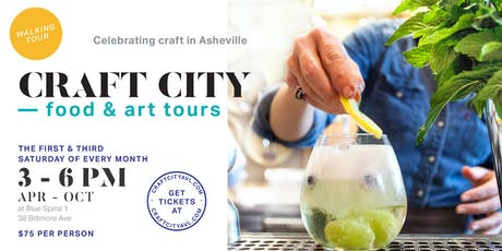 Craft City Food and Art Tours tickets