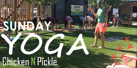 Sunday Yoga in the Game Yard tickets