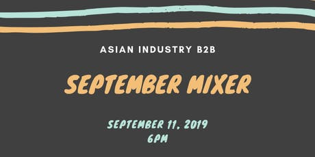 AIB2B Sept Business Mixer featuring Reach Out tickets