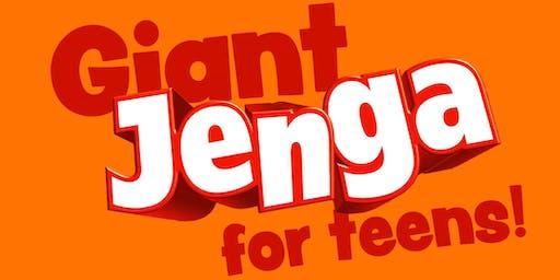 Giant Jenga for Teens