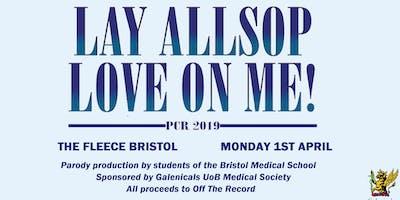 PCR 2019: Lay Allsop Love on Me!