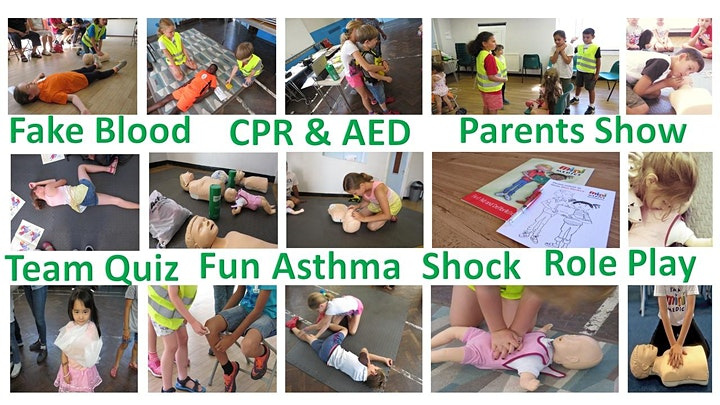 Little First Aiders - SUMMER  KIDS WORKSHOP - Certificates & Show DULWICH image