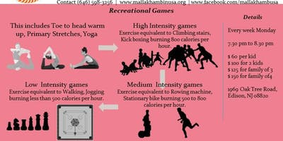 Recreational Games Fitness