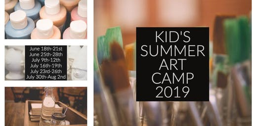 Kid's Summer Art Camp 2019 | Week 5