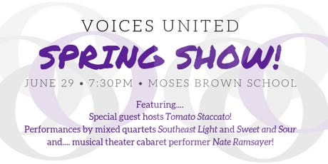 Voices United Spring Show tickets