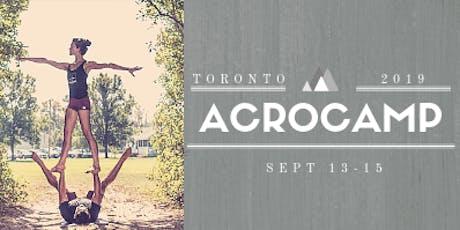 Toronto AcroCamp 2019 tickets