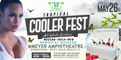 "TROPICAL COOLER FEST ""ALL WHITE EDITION"""
