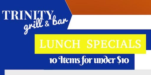 Lunch at Trinity: 10 Items for Under $10