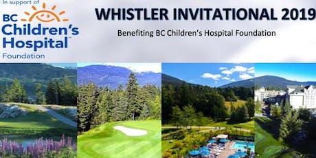 Whistler Invitational 2019 tickets