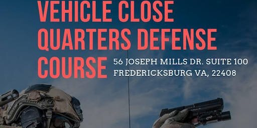 Vehicle Close Quarters Defense Course