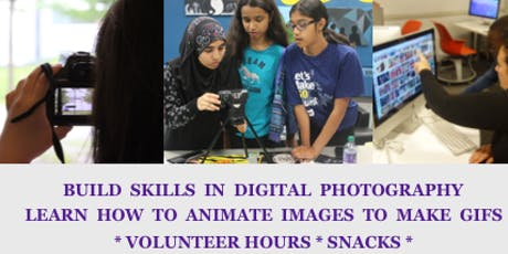 Picture This! Digital Arts Camp l  Etobicoke  l FREE l photography and animation day camp  l 12-19 years old tickets