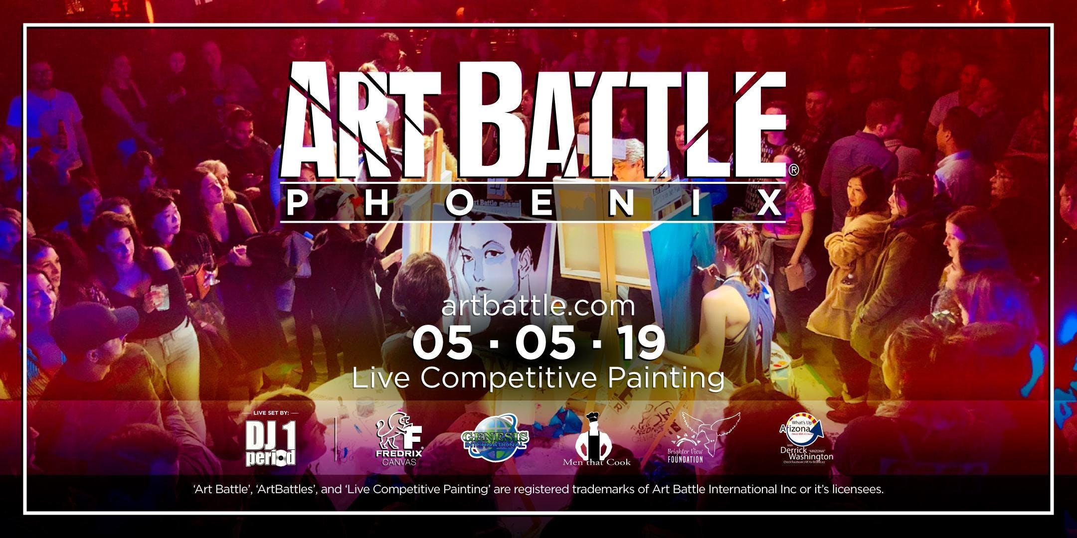 Art Battle Phoenix - May 5, 2019