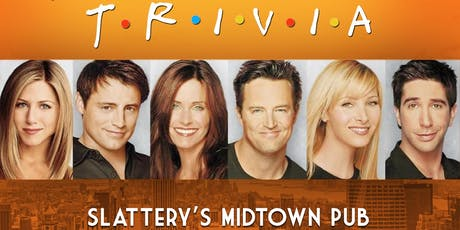 Friends Trivia tickets