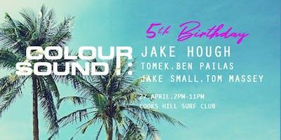 ColourSound 5th Birthday Ft Jake Hough