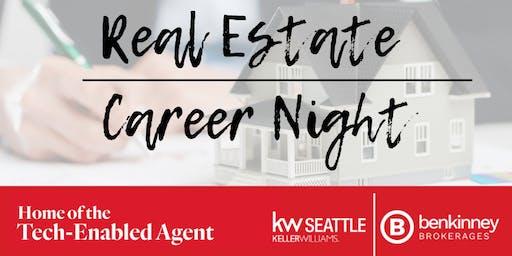 Real Estate Career Night at Keller Williams Downtown Seattle!