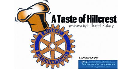 2019 Taste of Hillcrest tickets