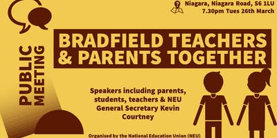 Public meeting: Bradfield Parents & Teachers Together