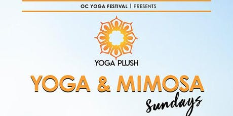 Yoga Plush: Beach Yoga & Mimosas tickets