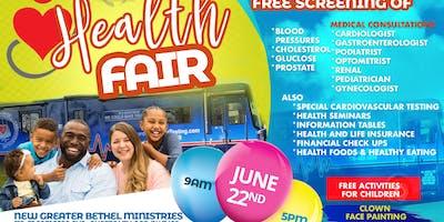 2019 NGBM Health Fair