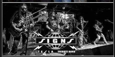 Signs: Tesla Tribute & Beyond Purple - Live in the Vault Music Hall
